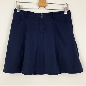 Eddie Bauer | Skort Navy Blue Tennis Golf
